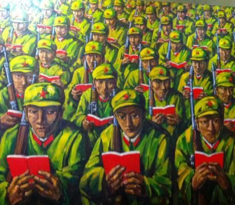 Le petit livre rouge, une antiquité...