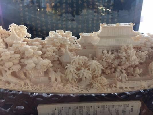 Au musée des Arts populaires de Shanghaï